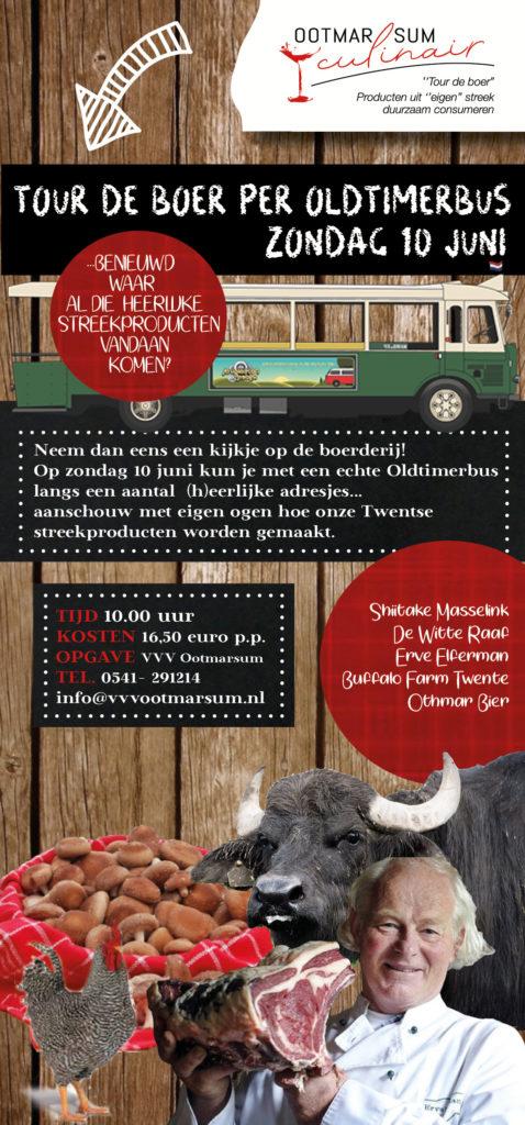 Tour de Boer per Oldtimerbus